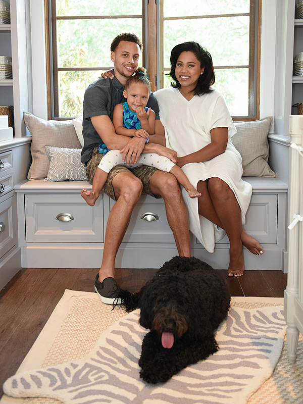 Stephen Curry Wife pregnant nursery