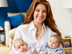 Dylan Lauren Introduces Twins Cooper Blue and Kingsley Rainbow