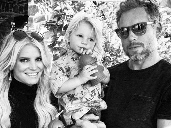 Jessica Simpson son Ace second birthday
