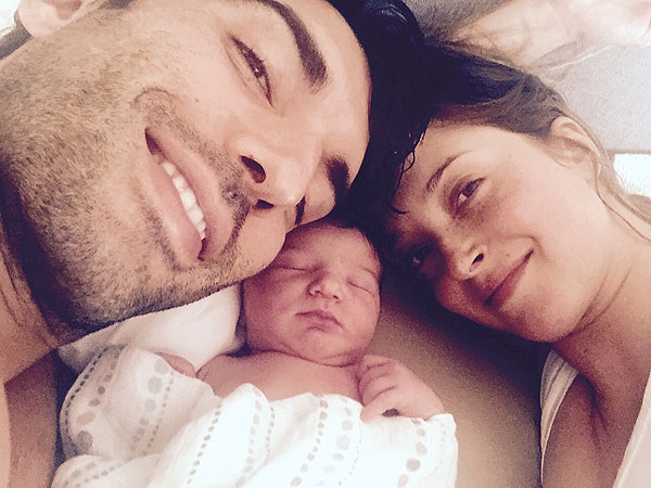 Justin Baldoni Welcomes Daughter Maiya Grace
