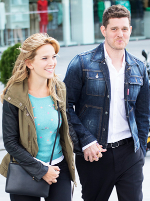 Michael Bublé Luisana Lopilato Pregnant Expecting Second Child