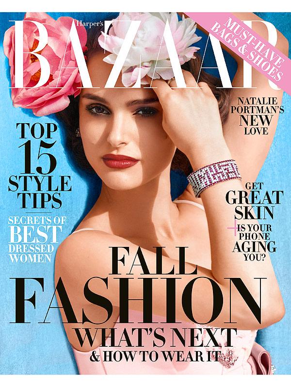 Natalie Portman Harper's Bazaar