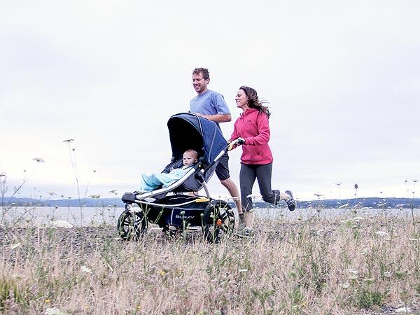 Burley Solstice jogging stroller review