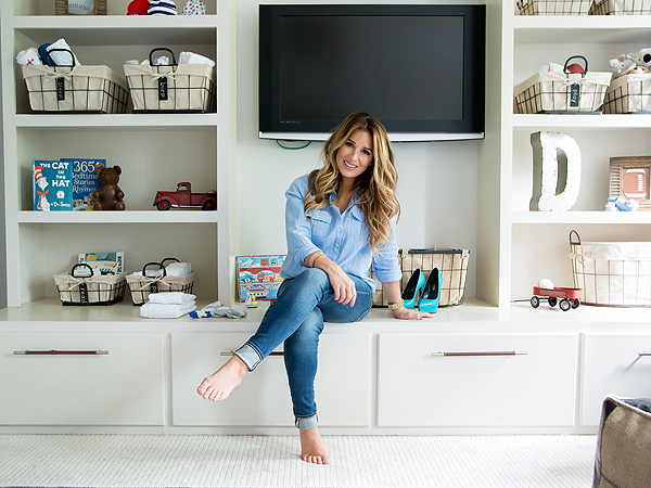 Eric Decker Jessie James Decker son nursery