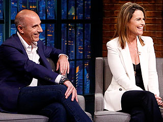 Savannah Guthrie Makes Matt Lauer FaceTime with Her Daughter Every Morning