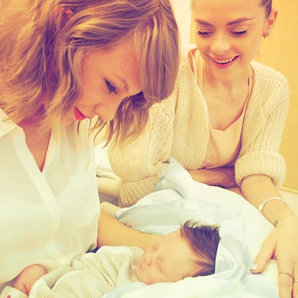 Taylor Swift Jaime King Leo Thames