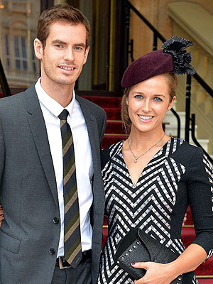 Andy Murray Kim Sears Welcome Daughter