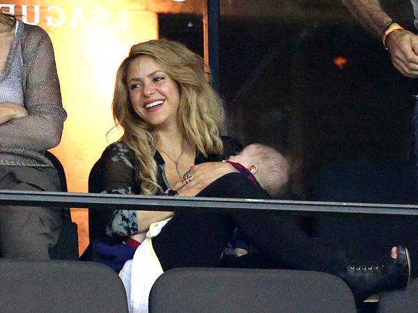 Shakira and Sasha Pique Mebarak