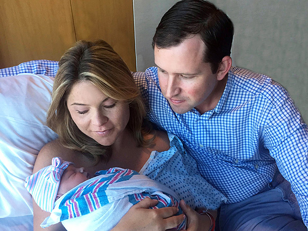 Jenna Bush Hager welcomes daughter Poppy Louise