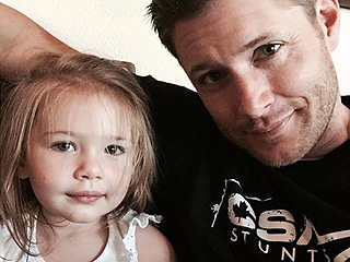 Jensen Ackles Joins Instagram – with a Little Help from His Daughter