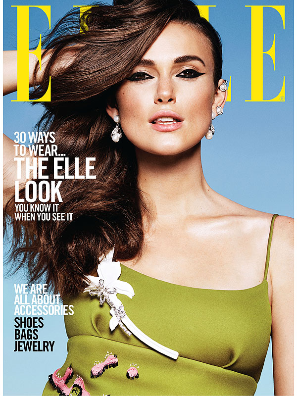 Keira Knightley in Elle