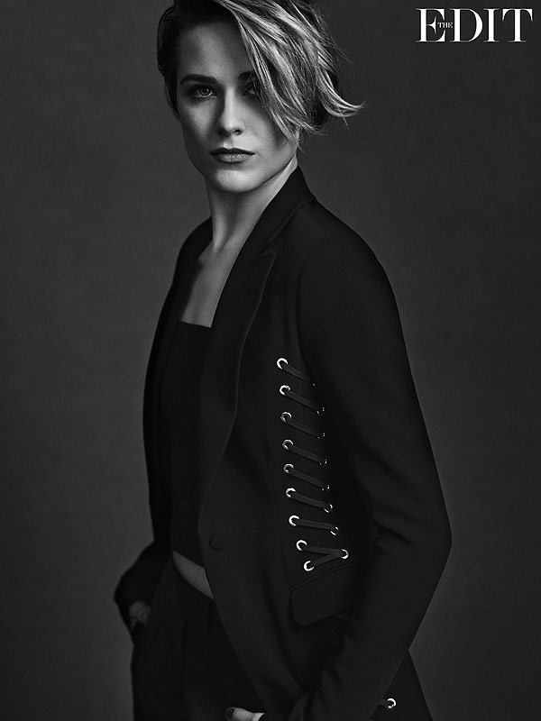 Evan Rachel Wood Net-a-Porter The Edit