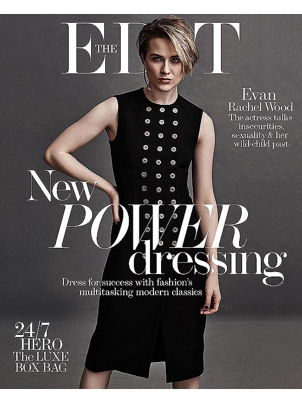 Evan Rachel Wood Net-a-Porter The Edit