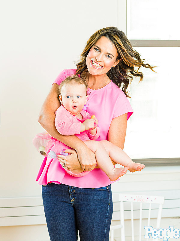 Savannah Guthrie daughter Vale nursery