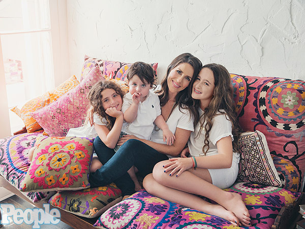 Soleil Moon Frye daughters style