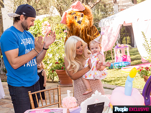 Christina Aguilera daughter Summer birthday