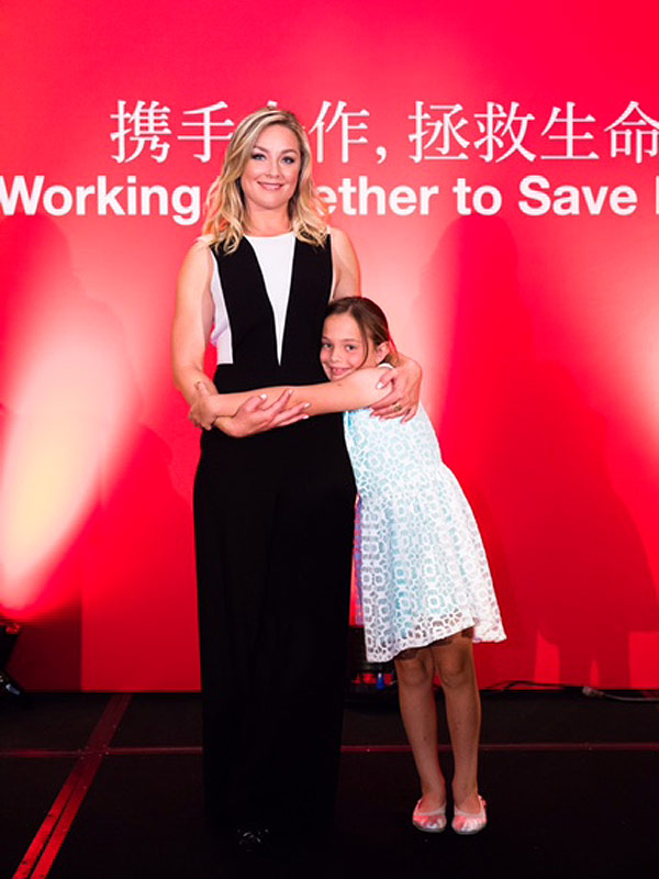 Elisabeth Rohm blog American Heart Association
