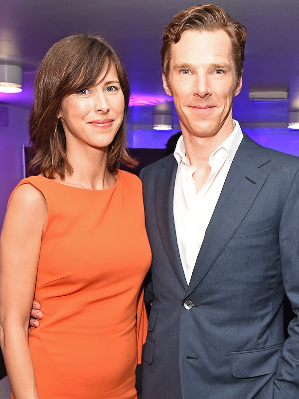 Benedict Cumberbatch Sophie Hunter son name