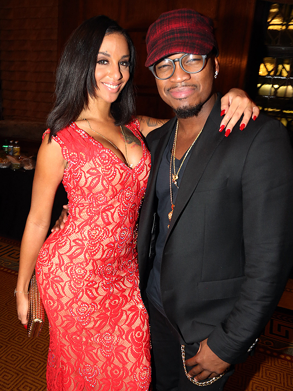 Ne-Yo and fiancée Crystal Renay