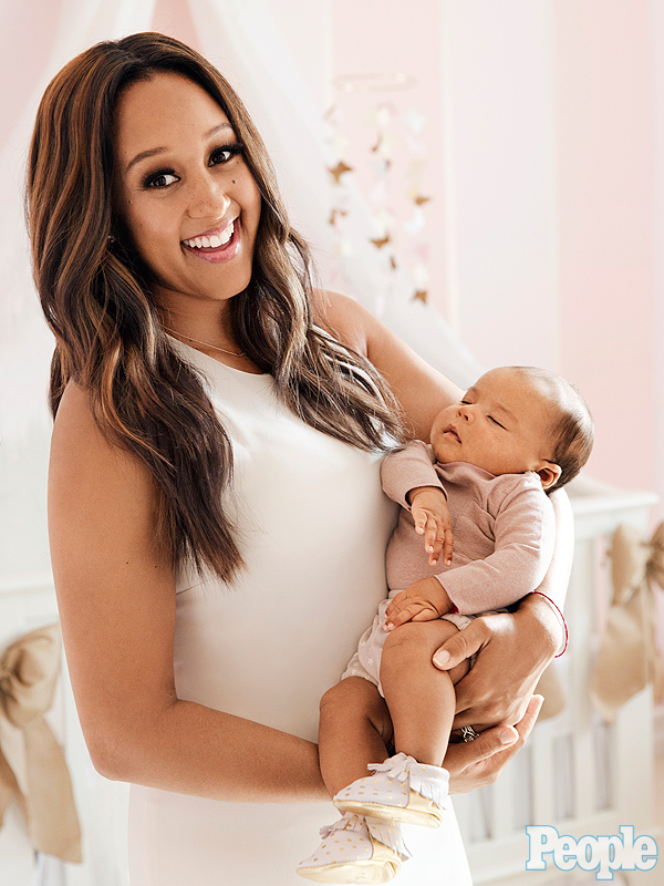 Tamera Mowry-Housley daughter Ariah Talea first photo