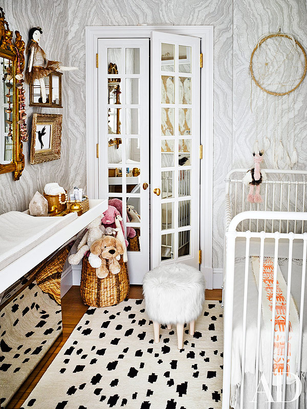 nate berkus and jeremiah brent's nursery in architectural digest