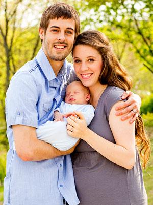 Jill and Derick Dillard and son Israel