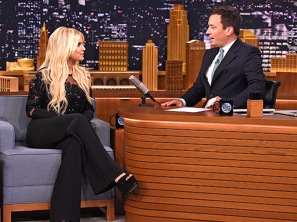 Jessica Simpson Jimmy Fallon The Tonight Show