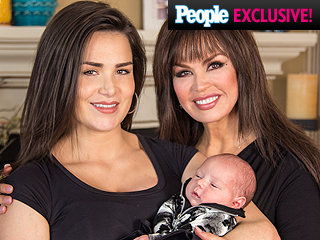 Proud Grandma! Meet Marie Osmond's First Granddaughter, Rocket Jade