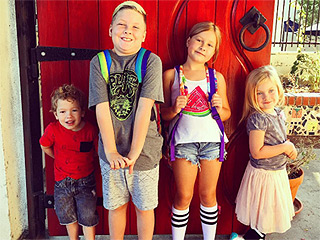 Back to School! See All the Sweet Snaps Celeb Parents Are Sharing of Their Kids' First Day