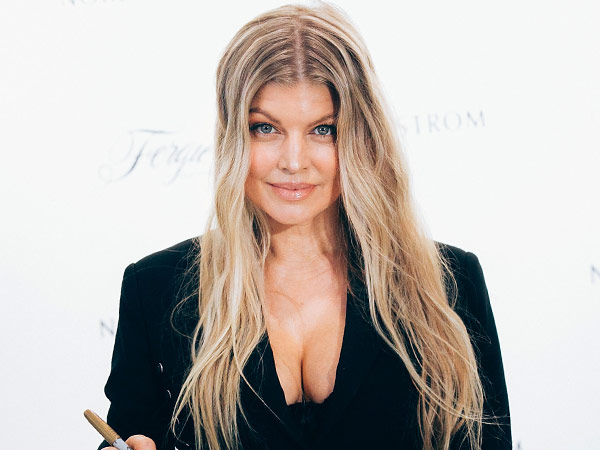 Fergie Outspoken Party fragrance son Axl