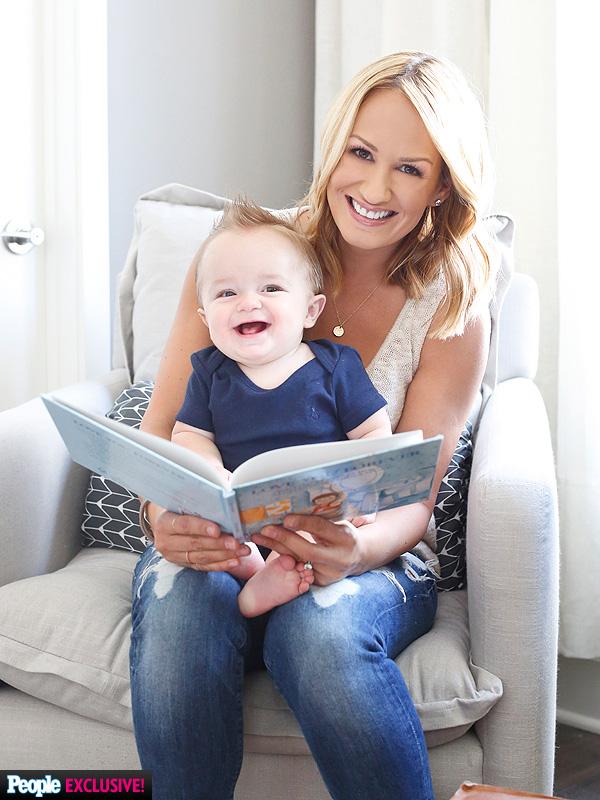 Jenn Brown Wes Chatham nursery