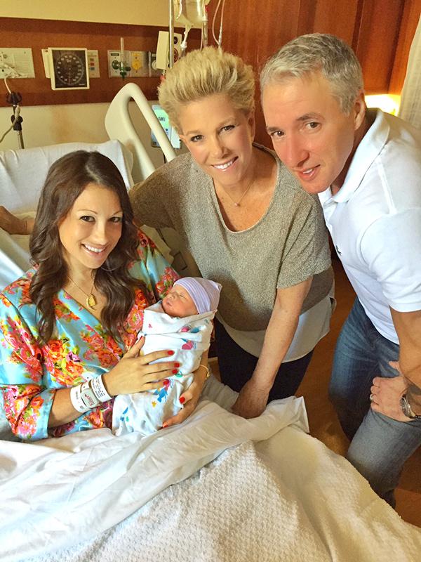 Joan Lunden daughter Jamie grandson Mason Levi