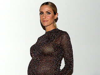Pregnant Kristin Cavallari Steps Out In Sheer Top (and Platforms!) for Fashion Week