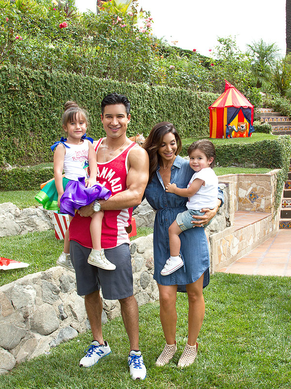 Mario Lopez carnival kids birthday party