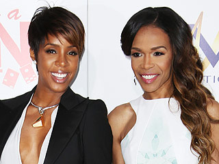 VIDEO: Mini Destiny's Child Reunion! Kelly Rowland and Michelle Williams Serenade Baby Titan