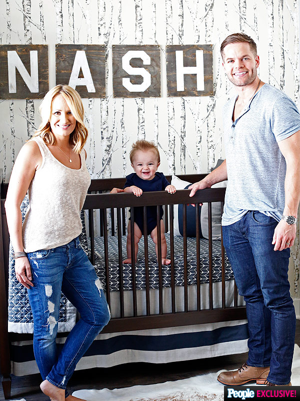 Jenn Brown Wes Chatham nursery