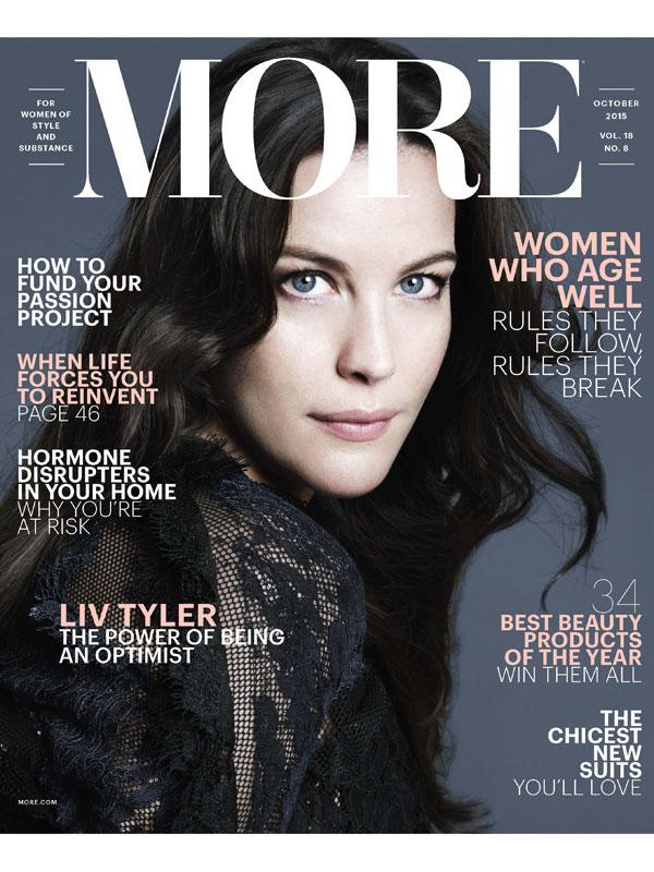 Liv Tyler MORE magazine