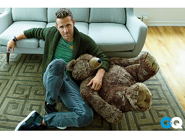 Ryan Reynolds Loves Life Without A Nanny Gq Magazine