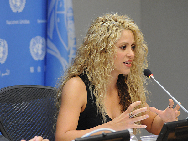 Shakira UNICEF Fisher Price