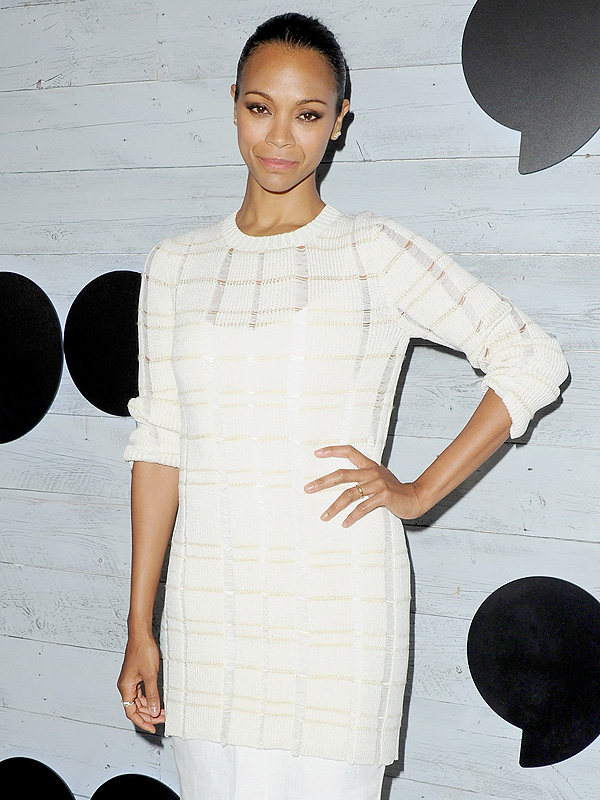 Zoë Saldana on Life with Twins: 'We Have a Tribe' We Turn to for Help