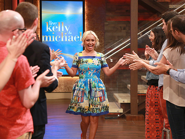 Hayden Panettiere Live with Kelly and Michael