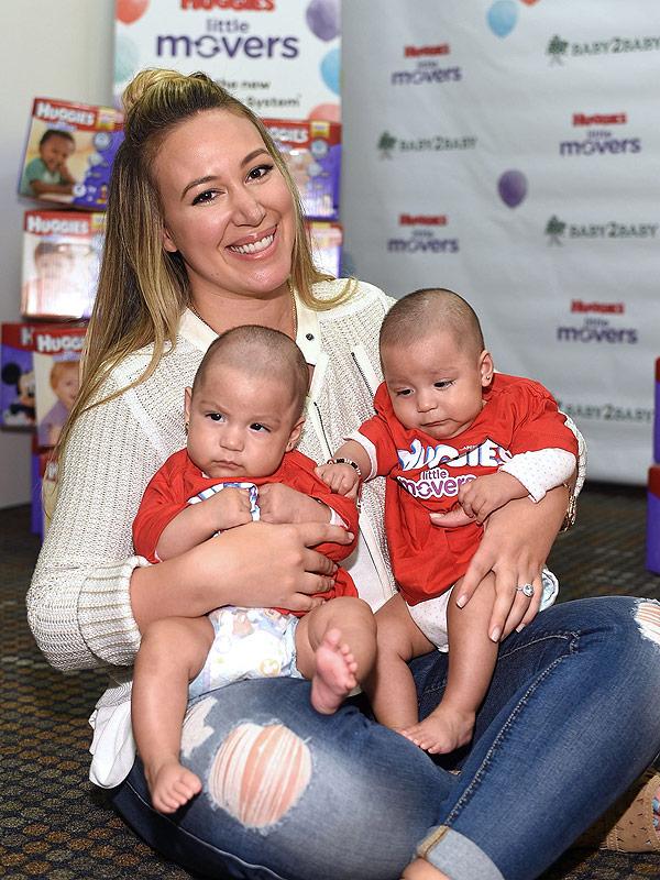 Haylie Duff Huggies Baby2Baby