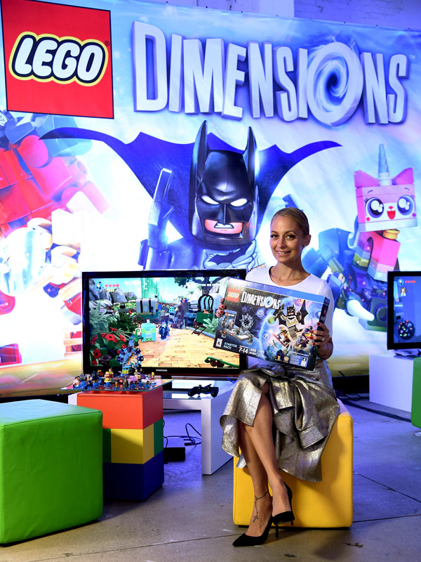 Nicole Richie LEGO Dimensions launch party
