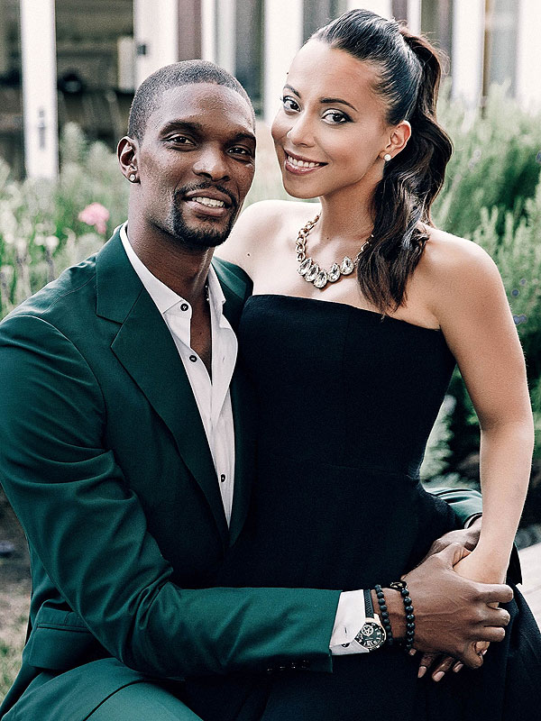 Chris and Adrienne Bosh expecting twins