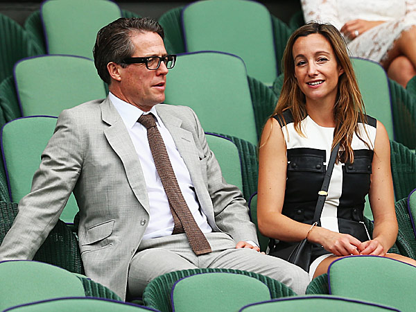 Hugh Grant fourth child Anna Eberstein pregnant