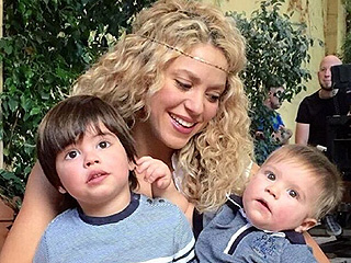 Shakira Dotes on Her Darling Boys in a Frame-Worthy Portrait