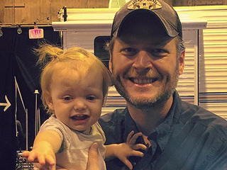 Not a Fan! Christina Aguilera's Daughter Cries with 'Uncle' Blake Shelton
