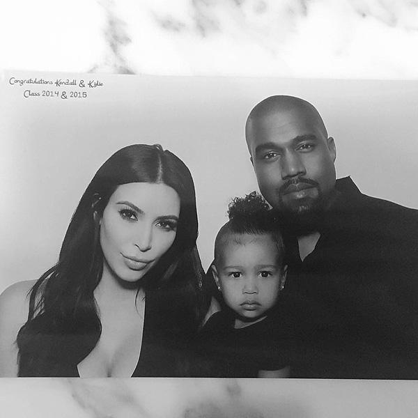 Kim Kardashian West, North West, Kanye West