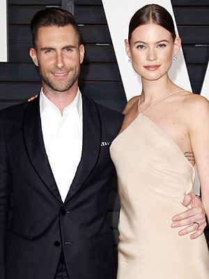 Adam Levine Behati Prinsloo expecting daughter