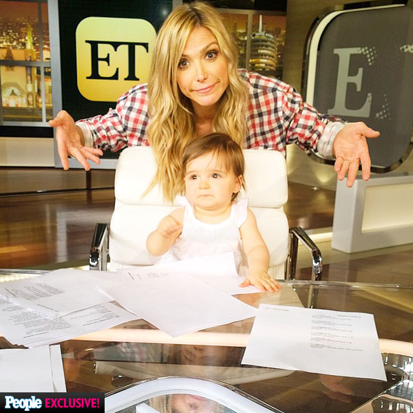 Debbie Matenopoulos Celebrates Daughter S First Birthday